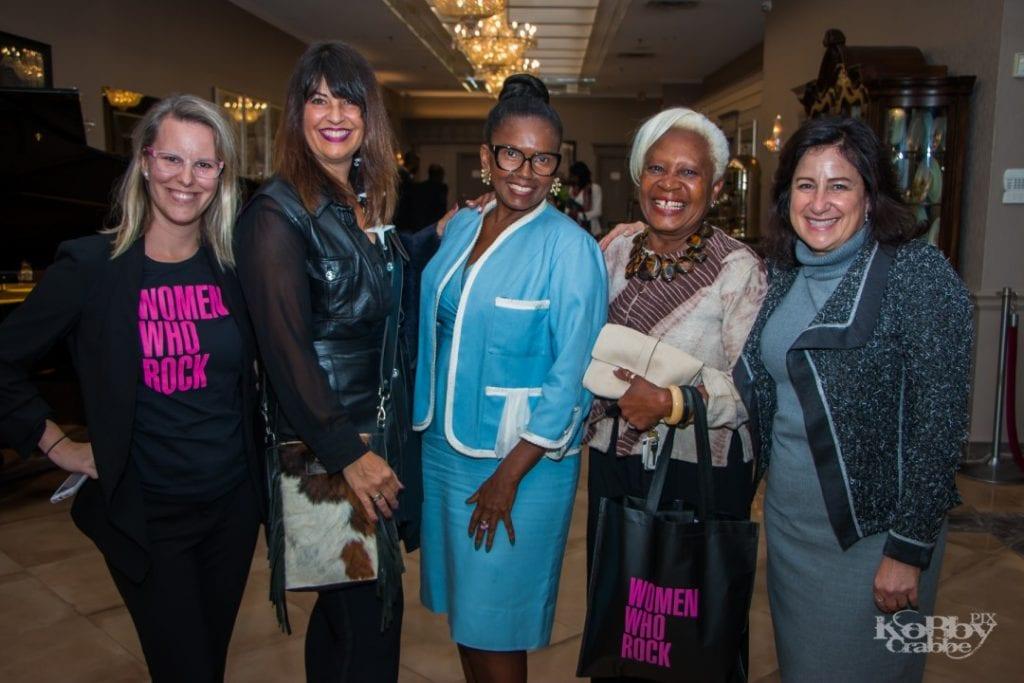 Women Who Rock 2019. Photo credit: Kobby Krab